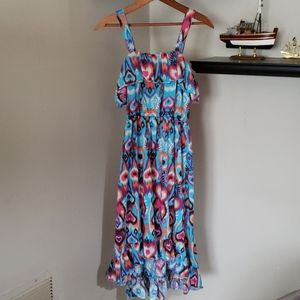 Hi/low sundress/pool cover up, size 14/16